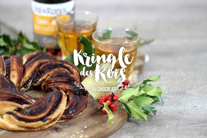 Kringle des rois au chocolat