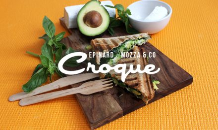 Croque complet épinard, mozza & co…