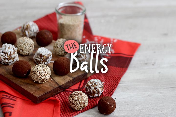 Go ! Go ! Go ! Energy balls !
