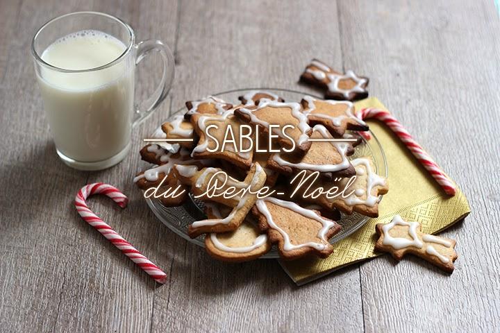 Sablés épicés pour le Père-Noël