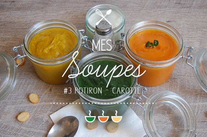 Soupe #3 : Potiron / Carotte