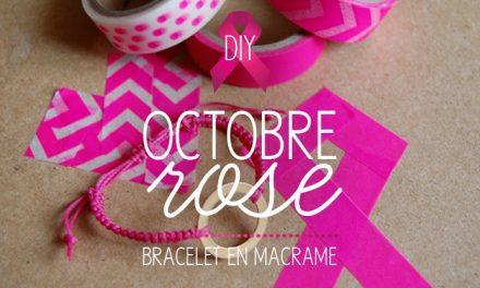 DIY Joli bracelet «Octobre Rose»