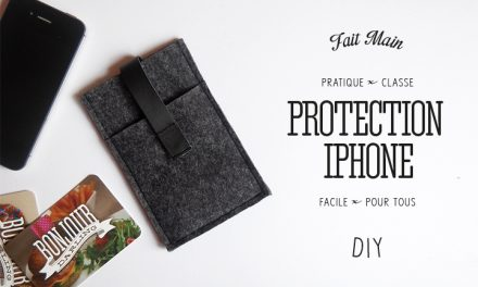 DIY Ma protection d'iPhone
