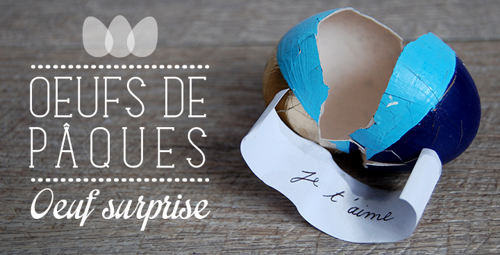 Oeufs de Pâques #2 : Oeuf surprise