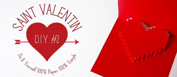 DIY St Valentin #2 : Mot d'amour pixelisé