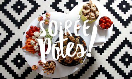Gourmandises et Soirée potes #Vidéo