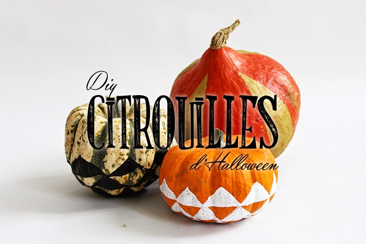 DIY Citrouilles scandinaves d'Halloween