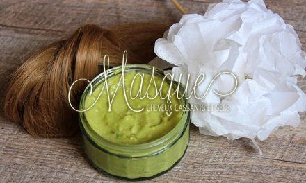 DIY Masque pour cheveux secs et cassants