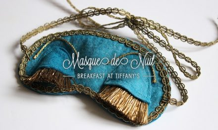 DIY Masque de Nuit « Breakfast at Tiffany's »