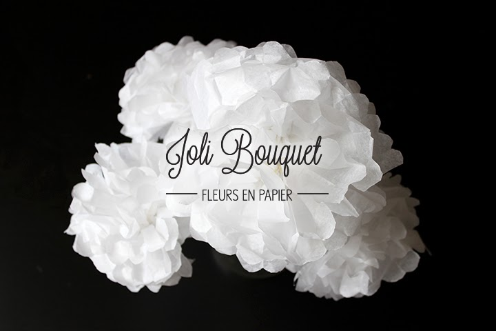 DIY Bouquet de fleurs en papier