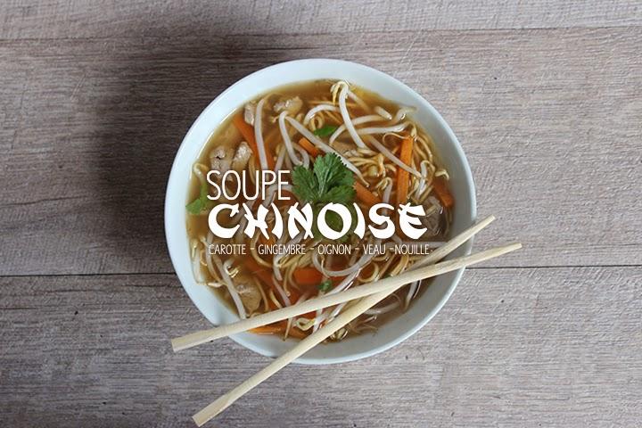 Soupe chinoise facile et gourmande