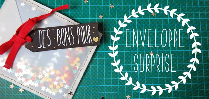 DIY – Enveloppe surprise