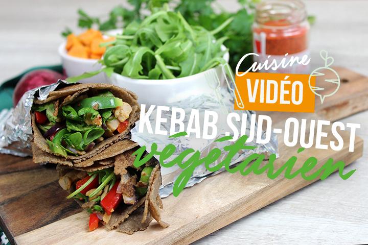 Kebab du Sud-Ouest végétarien