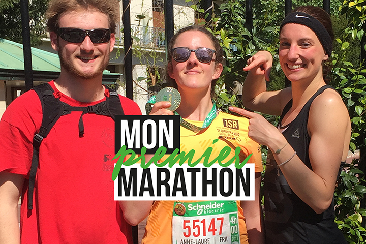 Mon premier marathon !