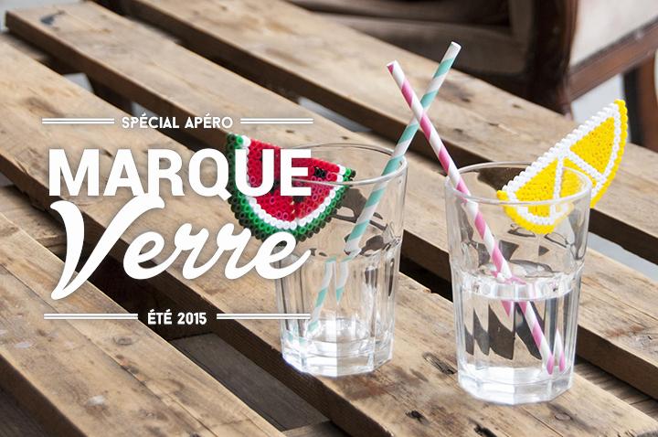 DIY Marque-verre exotique