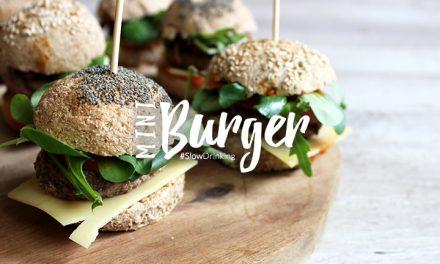 Mini burger 100% maison