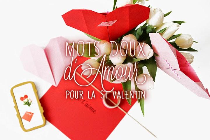 DIY Mots doux pour joli bouquet d'amour