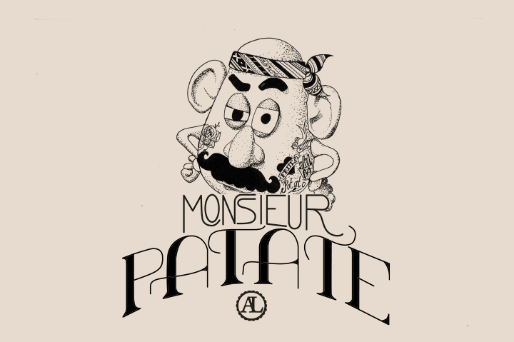 Mr mme patate bonjour darling - Mr patate dessin ...
