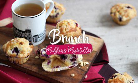 Brunch #4 – Muffins myrtilles façon Starbucks