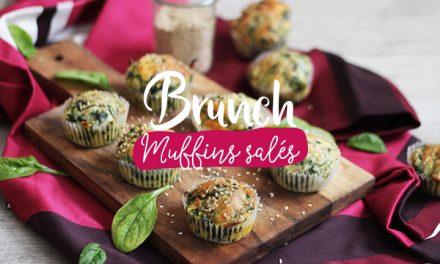 Brunch#2 – Muffins Parmesan-Épinard