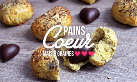 ♥ Petits pains de Saint Valentin ♥