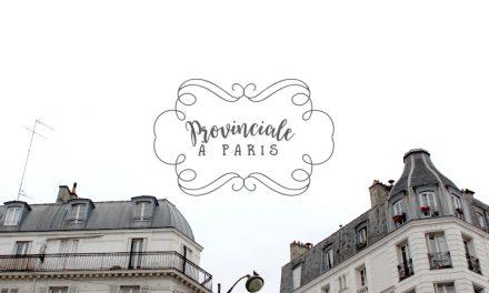 Provinciale à Paris #1