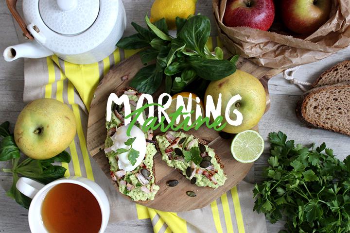 Tartine salée du matin