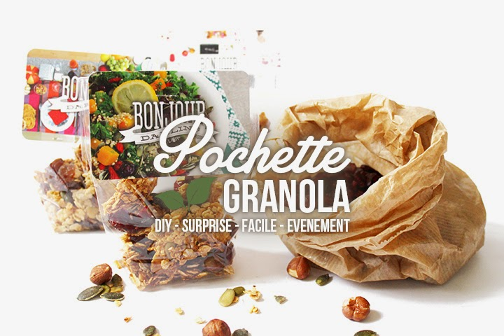 DIY Pochette de granola