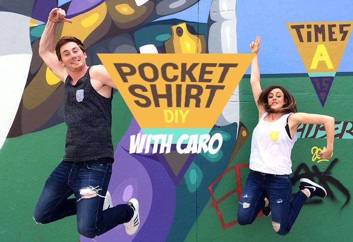 DIY Pocketshirt Elle&Lui