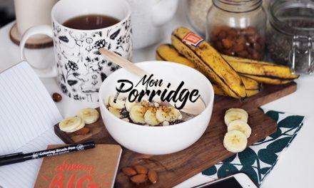 Le porridge de tous les jours