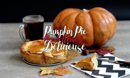 Pumpkin pie d'Halloween