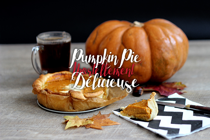 Pumpkin pie d'Halloween