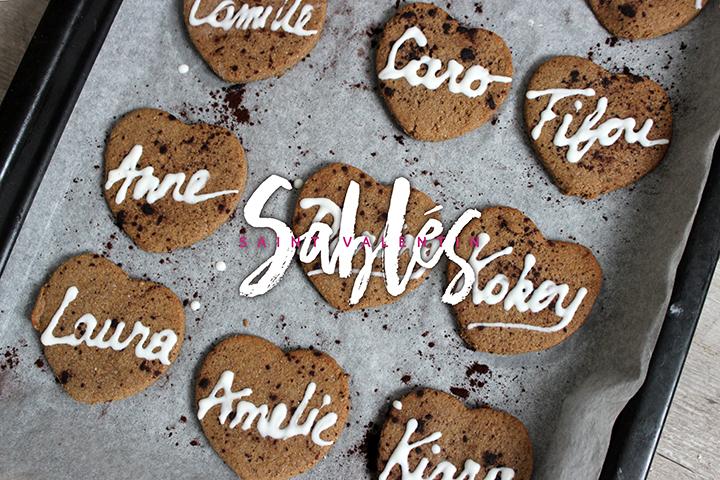 Sablés d'amour sans gluten