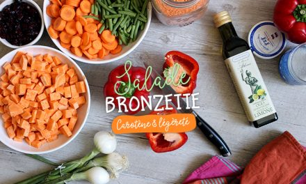 Salade «bronzette» riche en carotènes