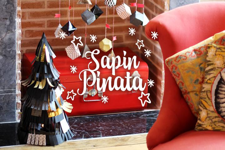 DIY Sapin de Noël Piñata