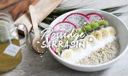 Porridge sarrasin et fruits exotiques