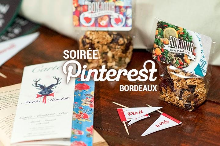 La première Soirée Pinterest à Bordeaux