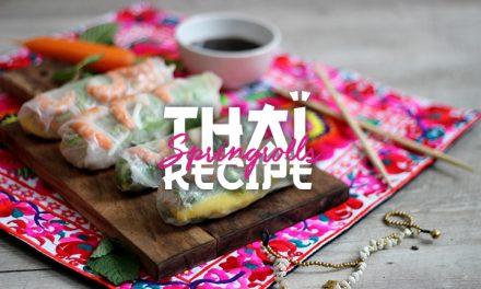 Thaï Spring Rolls