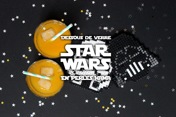 DIY Dessous de verre Star Wars