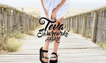 DIY tes sandales Teva x Swarovski